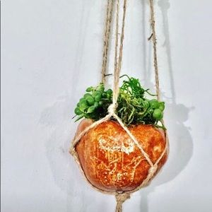 Other - Macrame hanging planter